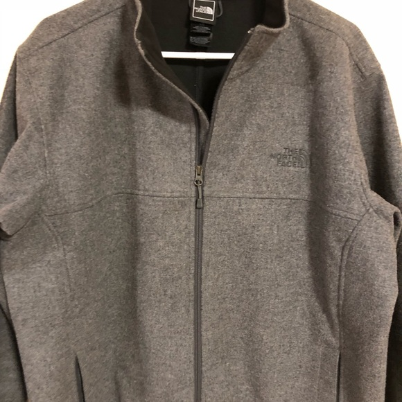 2c6c8d3fe Men's Large Wool blend, North Face Jacket